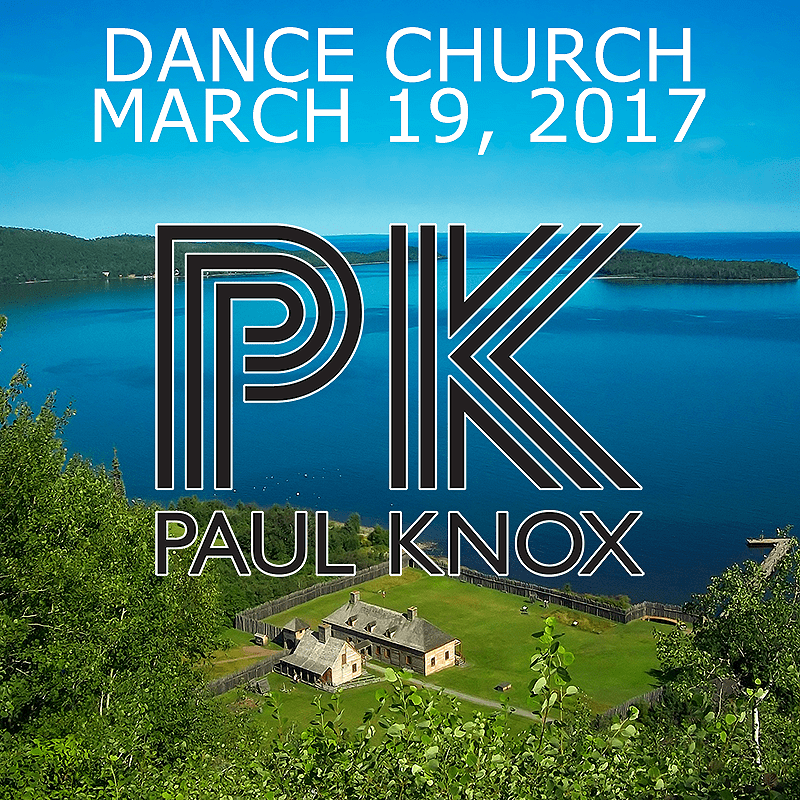 Dance Church March 19, 2017 Cover