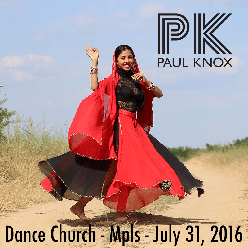 Dance Church July 31, 2016 Cover Art