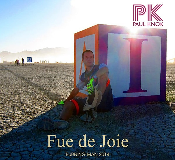 Fue de Joi Burning Man 2014 Mix Cover Art
