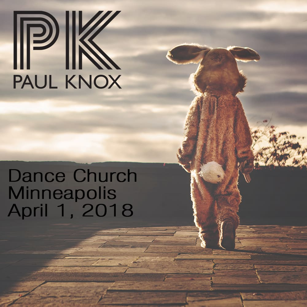 Dance Church April 1, 2018 - Cover Art
