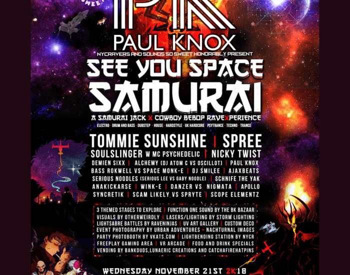 Cover Art - See You Space Samurai Mix